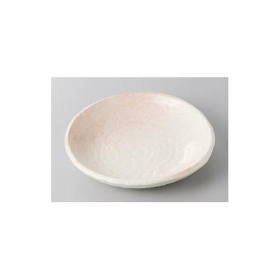 中皿 丸皿 桜志野5.0皿 15cm おしゃれ 和食器 業務用 美濃焼 9a247-17-71g