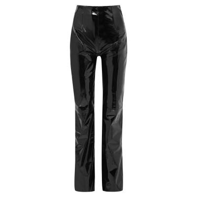 16ARLINGTON パンツ ブラック 6 革 100% パンツ