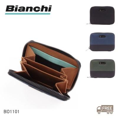 Bianchi ビアンキ BID1101 PICCOLO ピッコロ カジュアルウォレット シリーズ ラウンドコインカードケース メンズ レディース  名刺入れ カードケース 送料無料