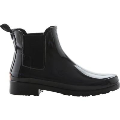 ハンター レディース ブーツ・レインブーツ シューズ Original Refined Chelsea Gloss Boot