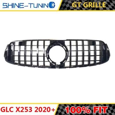 GlCクラスW253 GTR GT R X253 GLC200 GLC250 GLC300 GLC450 GLC63グリル Black  A