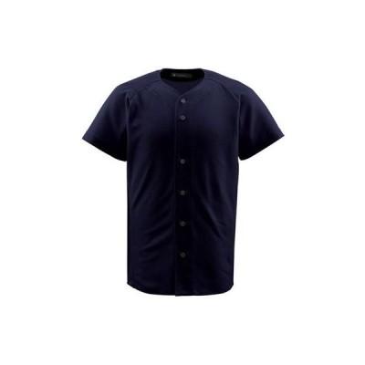 DESCENTE(デサント) ジュニアフルオープンシャツ JDB1010 ブラック(BLK) 130