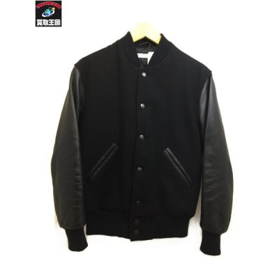 BEAUTY&YOUTH UNITED ARROWS 袖革スタジャン (SIZE:S)