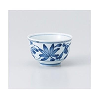 千茶 和食器 / 唐草小千茶 寸法:7.7 x 4.8cm ・ 120cc
