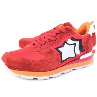 訳あり1 アトランティックスターズ Atlantic STARS アンタレス 靴 メンズ スニーカー レッド (ANTARES FR-85B RED)