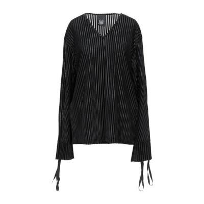JIJIL ブラウス ファッション  レディースファッション  トップス  シャツ、ブラウス  長袖 ブラック