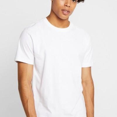 アーバンクラシックス メンズ ファッション BASIC TEE 3 PACK - Basic T-shirt - white/white/black