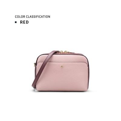 ミニショルダーバッグ 本革 牛革 レディース ファッション ピンク