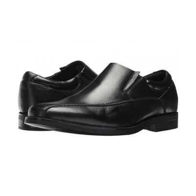 Dockers ドッカーズ メンズ 男性用 シューズ 靴 ローファー Franchise 2.0 Bike Toe Loafer - Black Polished Full Grain