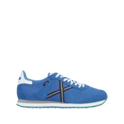 ミューニック MUNICH スニーカー&テニスシューズ(ローカット) ブルー 39 紡績繊維 / 革 スニーカー&テニスシューズ(ローカット)