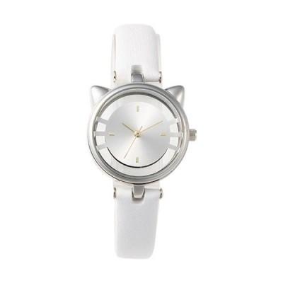 GRANDEUR レディース腕時計 CATウォッチ SS/ホワイト ESL081W1 ( 1個入 )