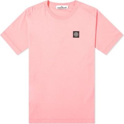 ストーンアイランド Stone Island メンズ Tシャツ ロゴTシャツ トップス Patch Logo Tee Pink