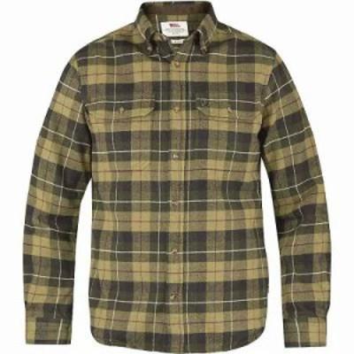 フェールラーベン シャツ Fjallraven Singi Heavy Flannel Shirt Green