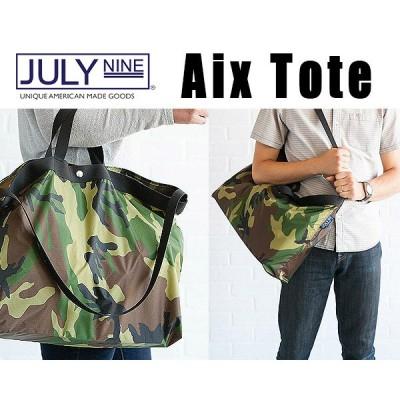 JULY NINE AIX TOTE ジュライ ナイン AIXトート MADE IN USA ショルダーバッグ ナイロン トートバッグ アメリカ製 カモフラ