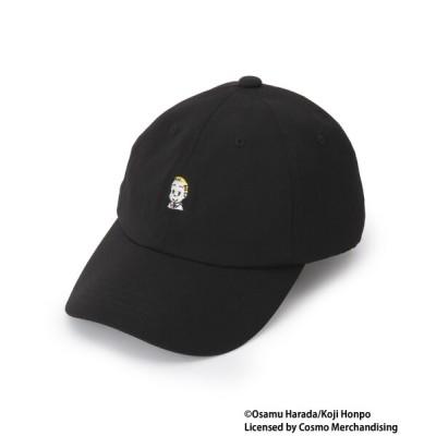 BASESTATION / OSAMU GOODS/オサムグッズ コラボ ワンポイント刺繍ローキャップ MEN 帽子 > キャップ