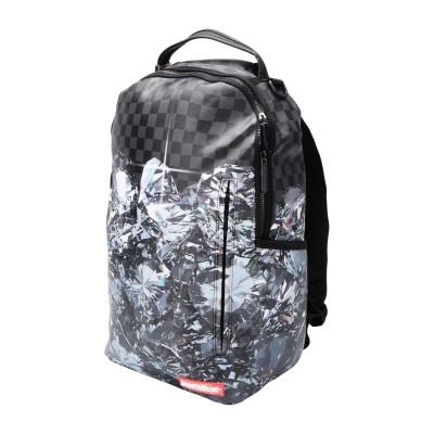 SPRAYGROUND バックパック&ヒップバッグ 鉛色 ポリ塩化ビニル 100% バックパック&ヒップバッグ