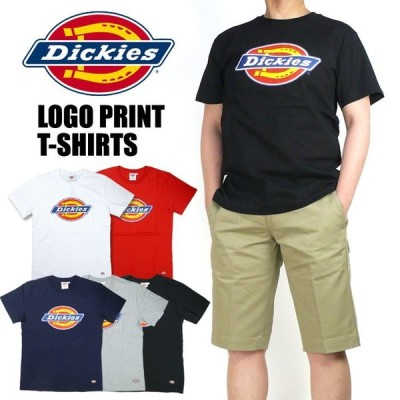 DICKIES ディッキーズ メンズ Tシャツ ロゴプリント 半袖Tシャツ DK006026