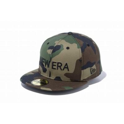 ニューエラ(NEW ERA) 59FIFTY NEW ERA ウッドランドカモ × ブラック 12037933 メンズ レディース  男女兼用