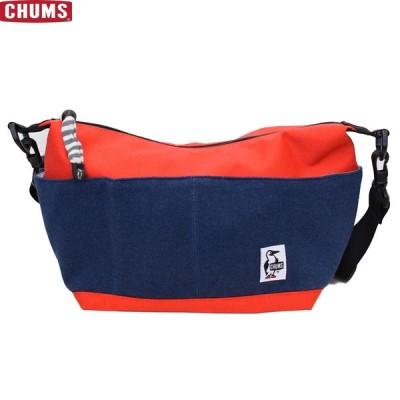 ショルダー バッグ スウェット チャムス コレクトショルダースウェットナイロン ネイビー CH60-2679