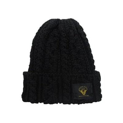 (ハイランド2000) Highland2000 メリノウール ニット帽 016 Merino Bobcap (ブラック Free Size)