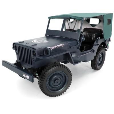 ラジコン おもちゃ リモコン トラック ダンプ ミニカー 軍用 LED ライト