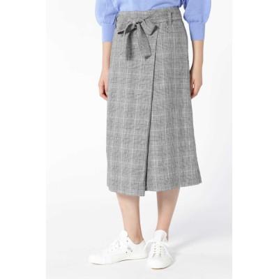 HUMAN WOMAN 高密度リネンスカート