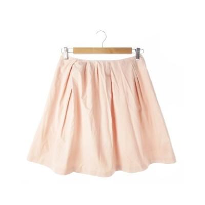 【中古】フリーズフレーズ FREE'S PHRASE スカート フレア ミニ M ピンク /AO11 ☆ レディース 【ベクトル 古着】