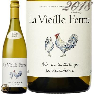 2018 ラ ヴィエイユ フェルム ブラン ファミーユ ペラン 正規品 白ワイン 辛口 750ml Famille Perrin  La Vieille Ferme blanc