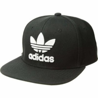 アディダス adidas Originals メンズ キャップ スナップバック 帽子 Originals Trefoil Chain Snapback Cap Black/White