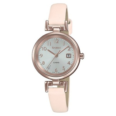 【正規品】カシオ CASIO 腕時計 SHS-D200CGL-4AJF レディース SHEEN シーン スワロフスキークリスタル ソーラー