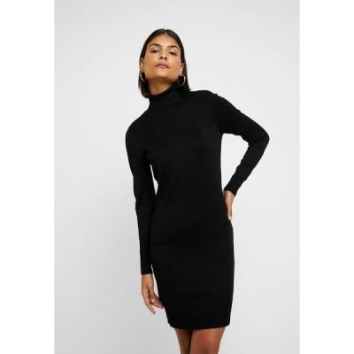 サントロペ ワンピース レディース トップス MILASZ ROLLNECK DRESS - Jumper dress - black