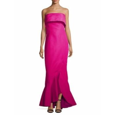 オスカーデラレンタ レディース ワンピース Trompe LOeil Silk Gown
