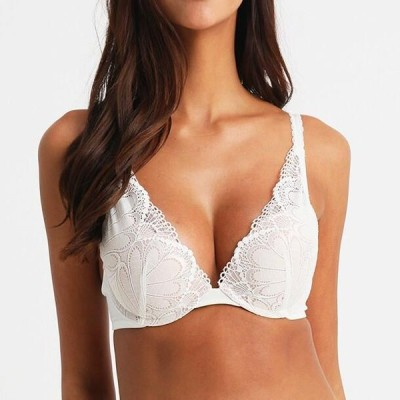 レディース ファッション REFINED GLAMOUR - Push-up bra - ivory