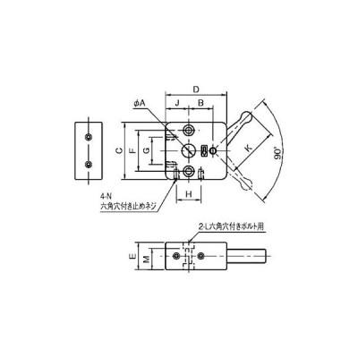 QSC クイックシャフトクランプ イマオコーポレーション QSC12S