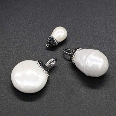 特別価格送料無料Natural Mother of Pearl Shell Pendants White Shell Pendants Crystal Quartz Gemstone Jewelry
