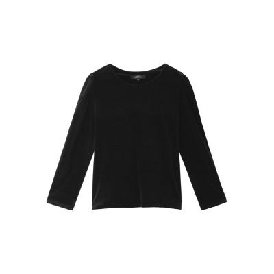 HELIOPOLE エリオポール 【Maison Guillemette】ベルベットブラウス レディース ブラック S