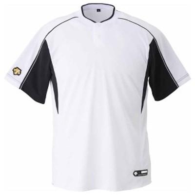 デサント ベースボールシャツ(SWBK・サイズ:M) DS-DB104B-SWBK-M【返品種別A】