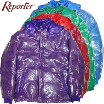 メンズ リポーター REPORTER ジャケット ダウン イタリア製 ストリート 54-56