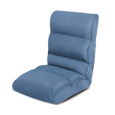 WLIVE 座椅子 ソファーベッド 背もたれ ハイバック 高反発 ポケットコイル フロアチェア 日本製ギア 42段階調整
