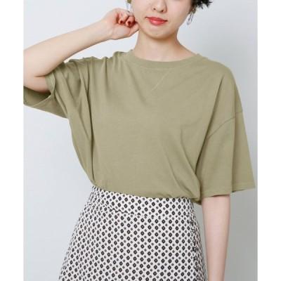 【フレームスレイカズン】ピグメント裾リブTシャツ