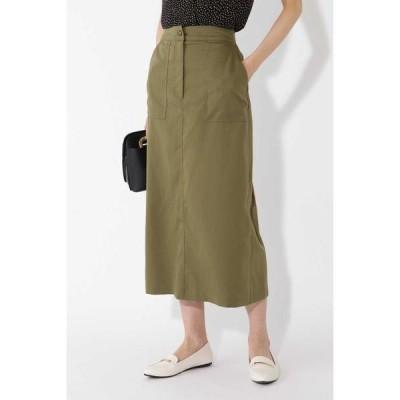 NATURAL BEAUTY BASIC カーゴスカート