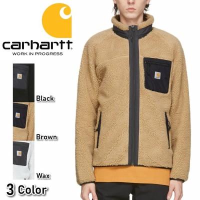 カーハート Carhartt WIP ボアジャケット フリース もこもこ ロゴ 秋冬 アウター トップス ワークウェア Prentis メンズ レディース 正規品[衣類]