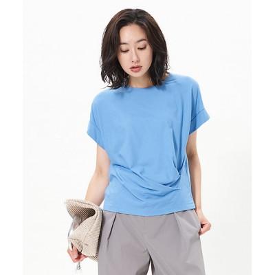 <CARA O CRUZ(Women)/キャラ・オ・クルス> タックTシャツ サックス【三越伊勢丹/公式】