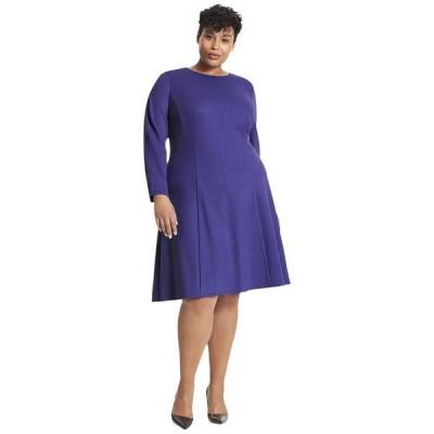 エムエメウラフール レディース ワンピース トップス Plus Size Ellis Dress - Textured Ponte