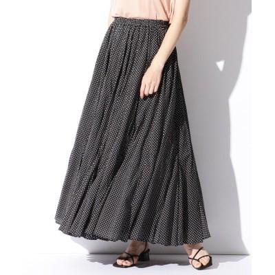 【ビームス ウィメン】 MARIHA / 別注 月影のスカート ドット レディース 別BLKPOLKA 36 BEAMS WOMEN