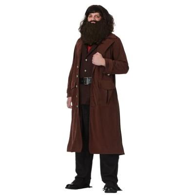 ハリーポッター ハグリッド コスチューム 大人 衣装 男性 メンズ 大きいサイズ ユニバ コスプレ usj
