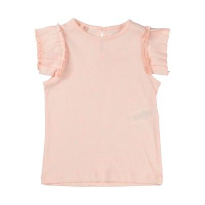 ステラ マッカートニー キッズ STELLA McCARTNEY KIDS T シャツ ピンク 10 コットン 97% / ポリウレタン 3% T
