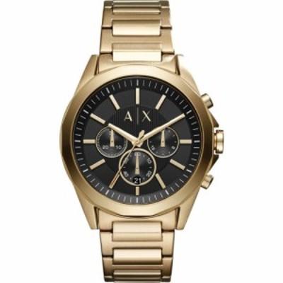 アルマーニ Armani Exchange メンズ 腕時計 Exchange Drexler Watch Gold/Black