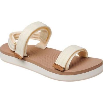 リーフ Reef レディース サンダル・ミュール シューズ・靴 Voyage Lite Seas Active Sandal Vintage White Polyester