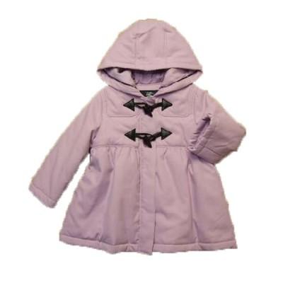 子供服 コート バーバリー 女の子 ダッフル ピンク ラベンダー 90cm ブランド
